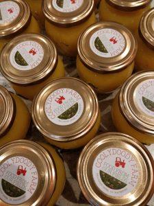 jars of coolydoody lemon curd